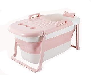 Zhicaikeji Bañera Plegable Piscina Infantil Engrosada For Adultos Tiempo De Aislamiento A Largo Plazo For Bebés con Cubier...