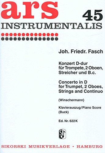 Konzert d-Dur - Trp Ob Str Bc. Trompete, Oboe, Klavier