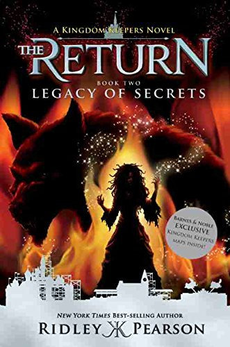 [Exclusive First Edition, ISBN9781484781906] The Return - Legacy of Secrets Book First Edition & First Printing. Disney-Hyperion / Barnes & Noble Exclusive Edition, with Kingdom Keepers Maps Laid In