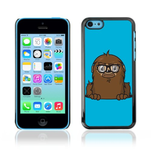 CelebrityCase Polycarbonate Hard Back Case Cover for Apple iPhone 5C ( Funny Cute Monster )