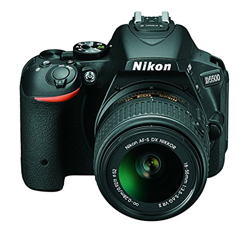 Nikon D5500 + Nikkor 18-55 VR II Fotocamera Reflex...
