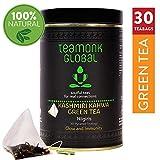 Teamonk Nilgiri Kashmiri Kahwa té verde - 30 bolsitas de té | té estimulante de la inmunidad |...