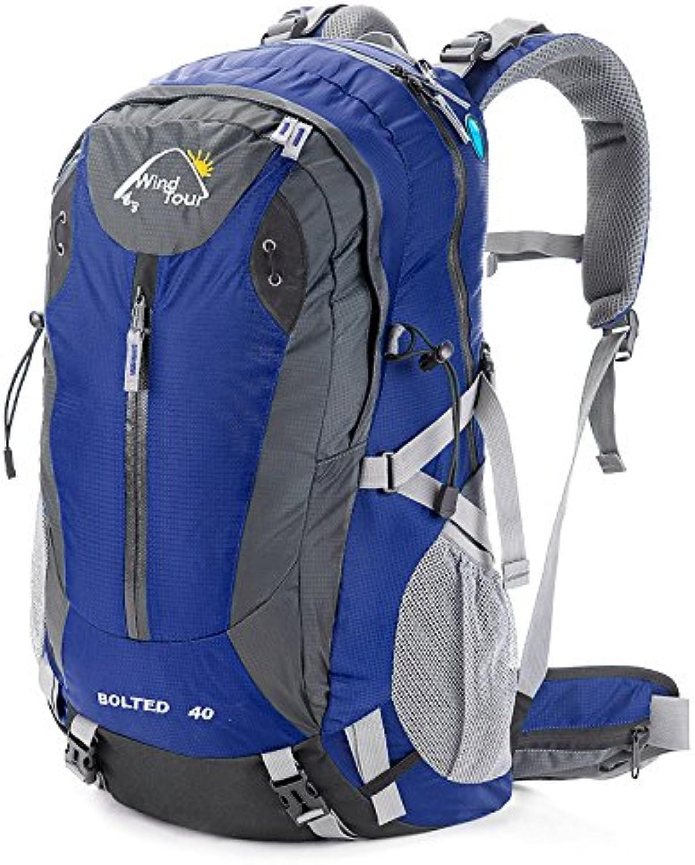 AaaSue Bergsteigen Tasche 40 Abfalltonne Sehr Wasserabweisend Bergsteigen Tasche Professional Outdoor Rucksack