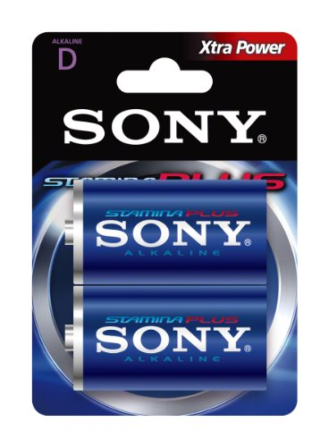 Sony 2 Piles Alcalines LR20/D