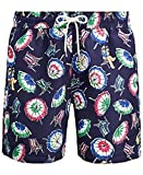 Polo Ralph Lauren Mens Printed Swim Shorts Beach Trunks with...