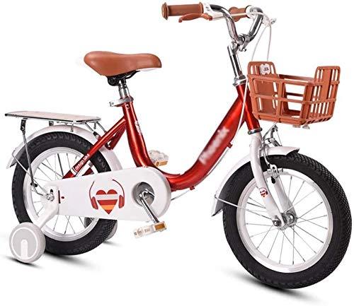 Biciclette di capretto, 12Inch / 14inch / 16Inch / 18Inch bambini della sede di bicicletta con rotelle di addestramento e posteriore for 2-12years old girls, biciclette for bambini assemblato con 85%,