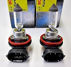 BOSCH Pure Light H8 35W halogeenlamp, 1987302081, autolamp, UV-filter, vervangbuis, nieuw en in originele verpakking