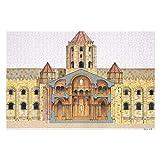 Santiago De Compostela Románicos Románicos para adultos, 300 piezas rompecabezas para niños, juguetes de juego regalo para niños y niñas, 10 pulgadas x 15 pulgadas
