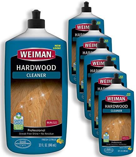 Weiman Hardwood Floor Cleaner - 32 fl oz (6 Pack)