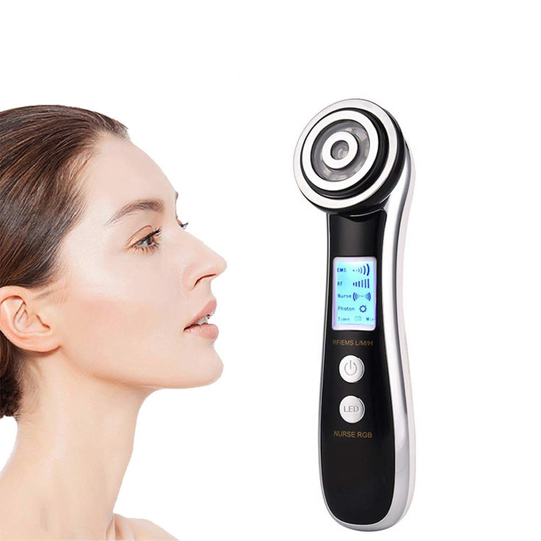 エレクトリック4-IN-1マッサージ、フェイシャル?美容機器、振動微小電流改善スキン削減スポット美容機器のLEDディスプレイ