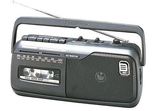 Panasonic RX-M40E9-KMono-Radiorecorder (Kassettendeck) schwarz