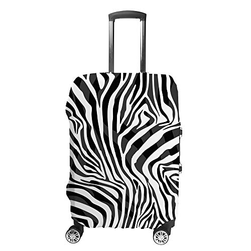 Luggage Cover Travel Anti-Scratch Suitcase Cover Baggage Protector Case Leopard Skin Texture Fit Washable Accessories Dustproof M