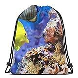 Affordable shop Mochila ligera para parejas de peces de acuario, bolsa de hombro, ligera, gimnasio, viajes, yoga, bolsa de hombro para senderismo, natación, playa