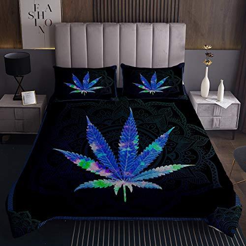 Homemissing Marihuana Quilt mit einem...
