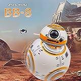 N&G Decoración del hogar Star Wars BB-8 RC Robot Star Wars BB-8 2.4Ghz Control Remoto Figura Robot Acción Robot Sonido Juguetes Inteligentes Coche para niños 3+