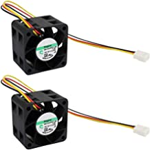 Generic 40x28mm Cooling Fan, Replace GM1204PQV1-8A Maglev Cooling Fan, 40mm by 40mm by 28mm with 3 Pin 3 Wire Connector 12V DC, 2.8 W (2 PACK)