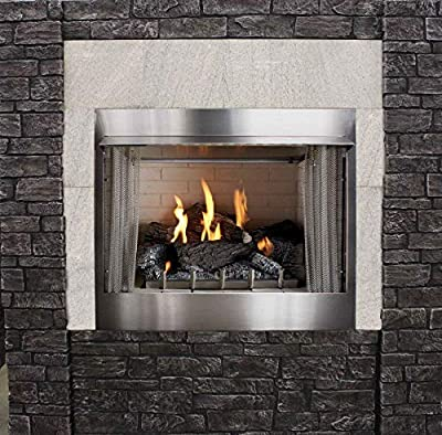 Empire Outdoor Traditional 36 Premium Fireplace OP36FP72MN - NG
