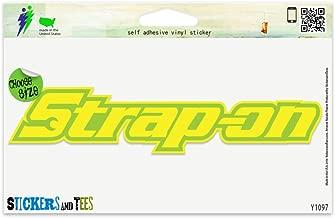 Strap On Vinyl Car Bumper Window Sticker 8
