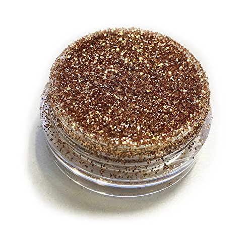 Gold Caramel Sparkle Eye Shadow Loose Glitter Dust Body Face Nail Art Party Shimmer Make-Up by Kiara World