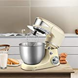 Amasadora De Pan Reposteria Batidora Profesional Para Hornear, 5L/1000W Mezclador De Masa EléCtrica, Professional Eggs Blender, Kitchen Stand Food Mixer, Milkshake/Cake Mixer Kneading Machine