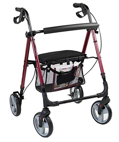 Antar Aluminium Leichtgewicht Rollator bis 130 kg belastbar