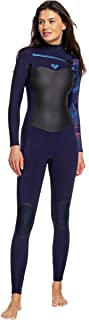 Roxy Womens 3/2Mm Syncro Plus Chest Zip Wetsuit for Women Erjw103026