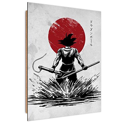 Feeby Dessin par DDJVIGO Image imprimée - 50x70 cm - Blanc Rouge