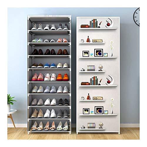 Wlbhb Multi-Capa de Zapatos Gabinete, Zapatos a Prueba de Polvo de Almacenamiento, Ahorro de Espacio Zapatero (Color : Animal 9L)