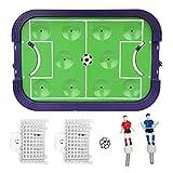 WRJ Mini Futbolín Juguetes para Niños Deportes Formato Mini - Diversión, Portátiles, Mesas Futbolín Fútbol De Fútbol - Fútbol Juguete Mano De Recreo,1