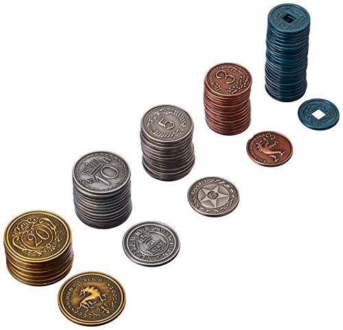 Stonemaier Games - Gioco di monete in metallo, accessori