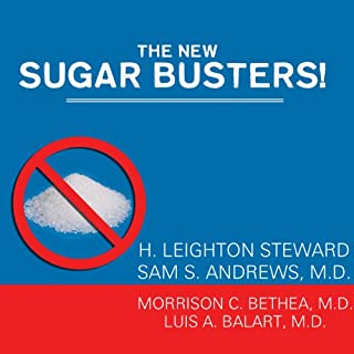The New Sugar Busters! audiobook cover art