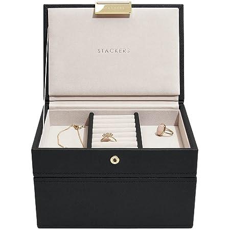 Stackers Mini boîte à Bijoux en Noir