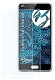 Bruni Schutzfolie kompatibel mit Wiko U Feel/U Feel Lite Folie, glasklare Bildschirmschutzfolie (2X)