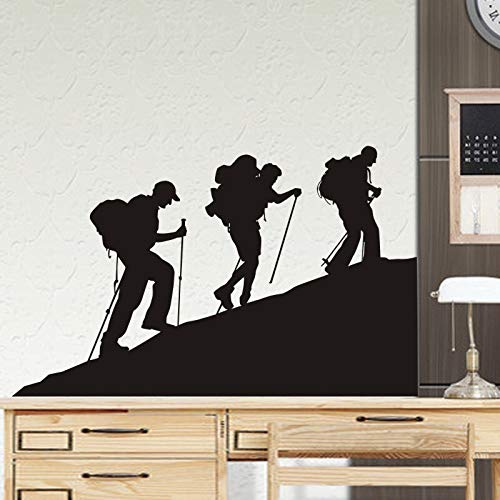 Pegatina de escalada en roca, calcomanía de escalador, póster de deportes extremos, pegatina de vinilo para pared, Mural, elegir, pegatina de escalada en roca, otro color 58x81cm