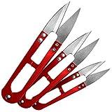 Faden & Nadel, 3 tagliafili, colore: rosso