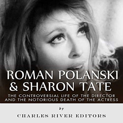 Roman Polanski & Sharon Tate audiobook cover art