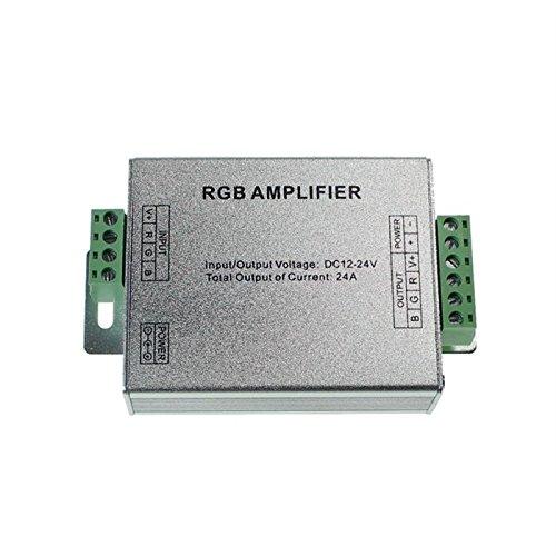 RGB LED Amplificador de señal 12.24V 288W para las tiras de cambio de color 4-Pin
