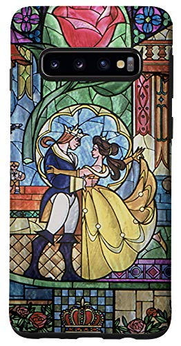 Galaxy S10 Disney Beauty & The Beast Stained Glass Case