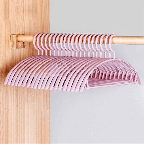Tgsea Perchas deplásticoPerchasAntideslizantes parabebés Perchas Delgadas Que ahorranEspacio para Abrigos Camisas