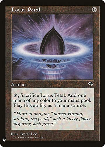 Magic: The Gathering - Lotus Petal - Mystery Booster - Tempest