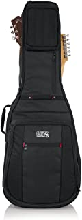 dual acoustic and electric guitar case