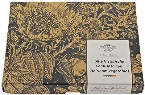 493 opinioni per Vecchie verdure storiche- set regalo di semi con 8 ortaggi rari