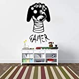 Wall Poster, Gamer Hand Video Game Play Boy Gaming Game