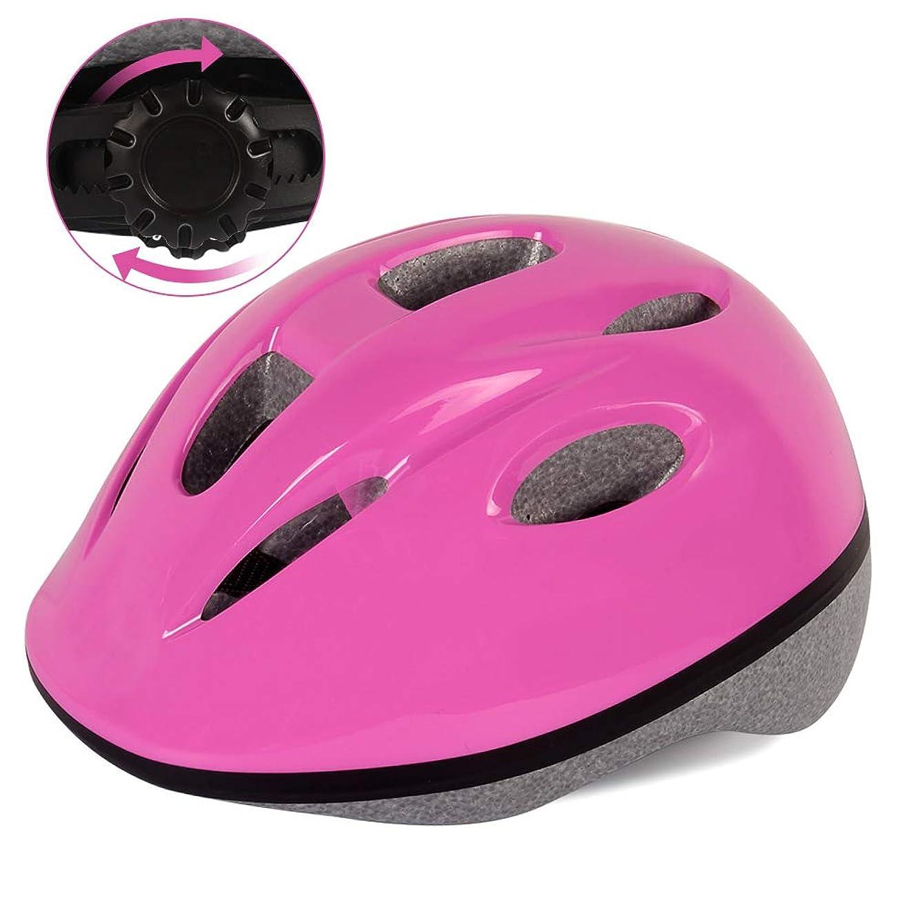 手当可能性ウィスキーGOOGO ヘルメット こども用 キッズ 幼児 軽量 通気性 調整可能 通学 自転車 サイクリング スキー バイク スケートボード 保護用ヘルメット