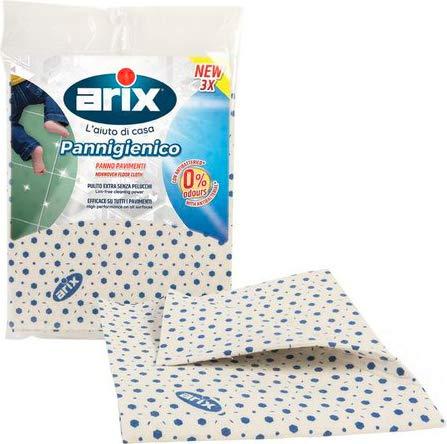 Set 3 Panni pavimenti in tnt con antibatterico, 50x45 cm
