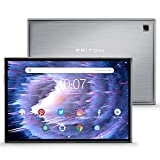 Android Tablet Pritom Tronpad L10 10 Zoll Tablet Android 10.0 OS ,3 GB RAM, 32 GB ROM, Octa Core Prozessor, 5G und 2,4G WiFi, 5.0 Front+ 8.0 MP Rückkamera, Wi-Fi, GPS,Bluetooth 5.0, Tablet PC(Silber)
