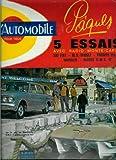 L'Automobile - n°204 - 01/04/1963 - Bateau O.M.C. 17 à Villefranche
