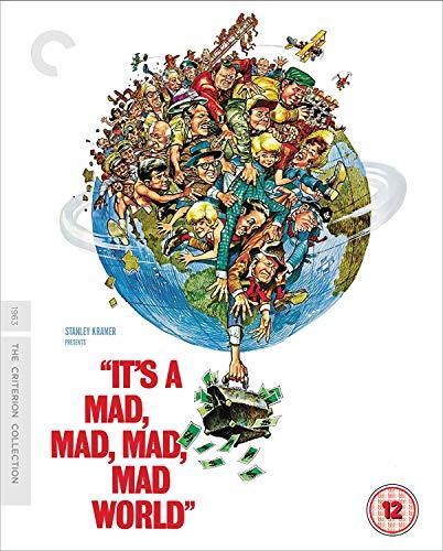 Its A Mad Mad Mad Mad World (Criterion Collection) (2 Blu-Ray) [Edizione: Regno Unito]