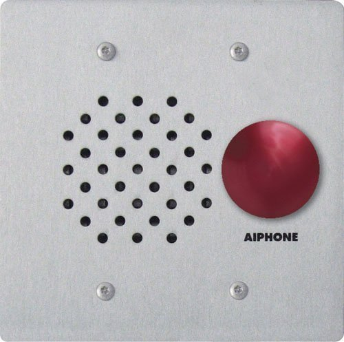 Aiphone LE-SSR Vandal- and Weather-Resistant Two-Gang Door Station For Use with AP-M, LAF-C, LDF, LEF, LEM, and MP-S Series Intercom Systems by Aiphone