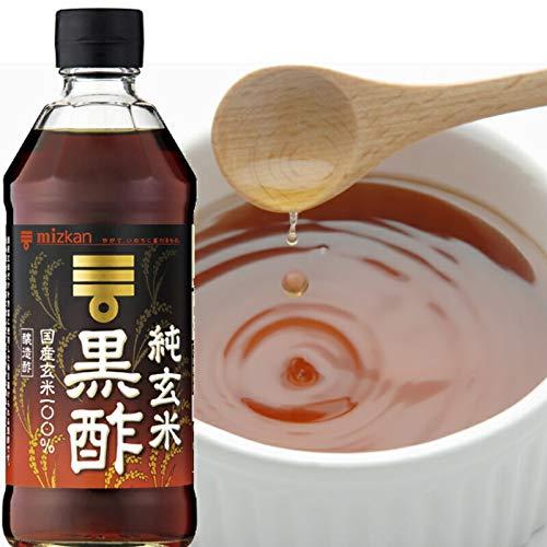ミツカン 純玄米黒酢 500ML × 6本